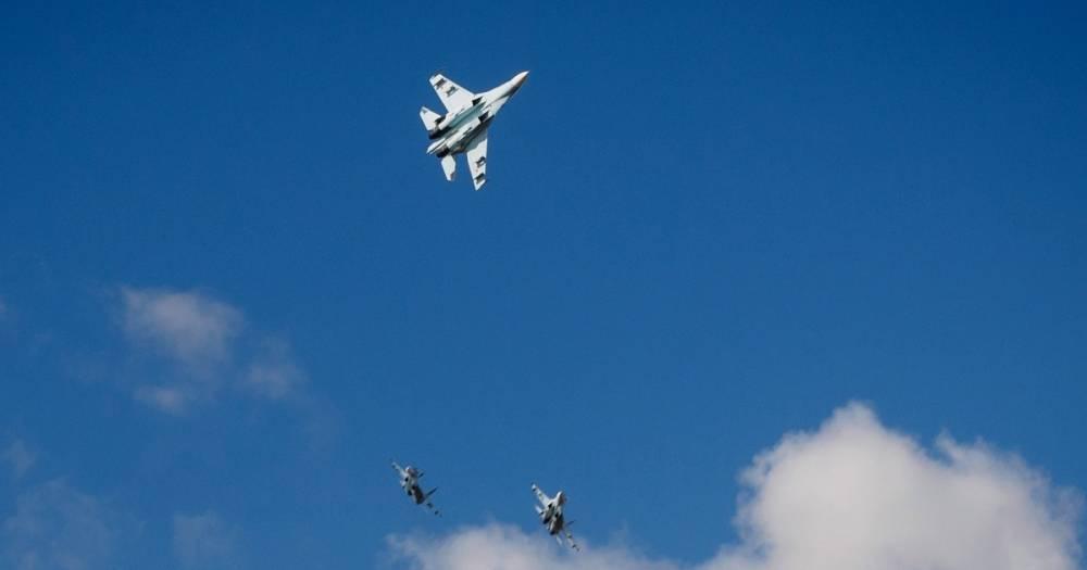 Самолёты ВКС России девять раз за неделю поднимались на перехват