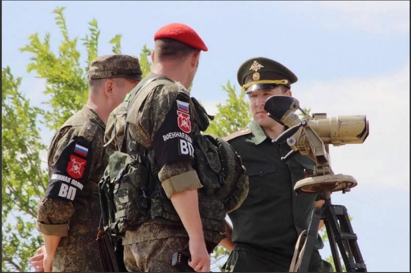 На полигоне Тоцкое прошли масштабные учения военной полиции