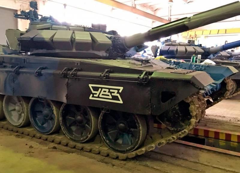 УВЗ разрабатывает робототехнический комплекс на базе Т-72