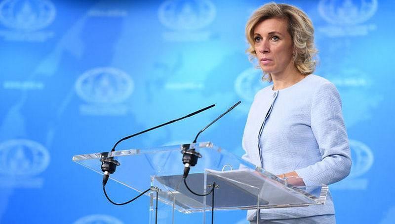 """Захарова: В случае введения новых санкций, Россия ответит """"зеркально"""""""