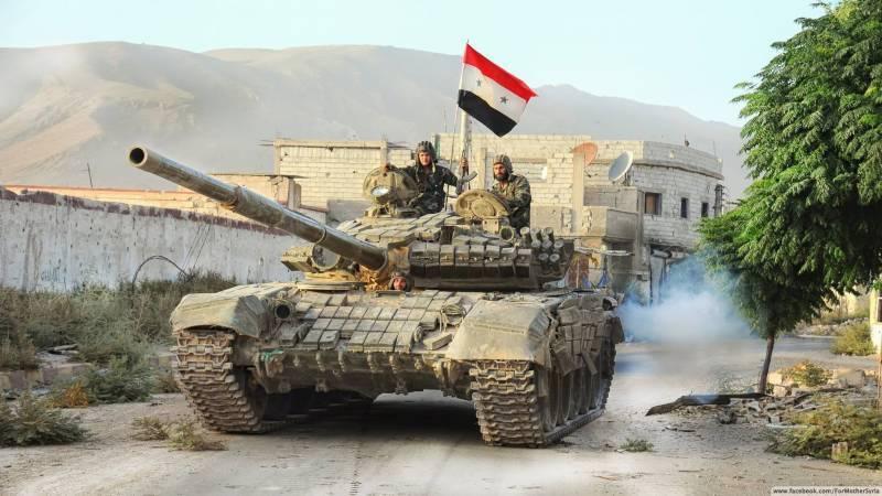 САА перебрасывает ударное подкрепление на север провинции Алеппо