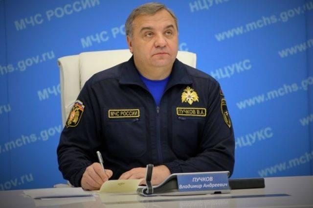 Следственный комитет опроверг данные о допросе экс-главы МЧС Пучкова