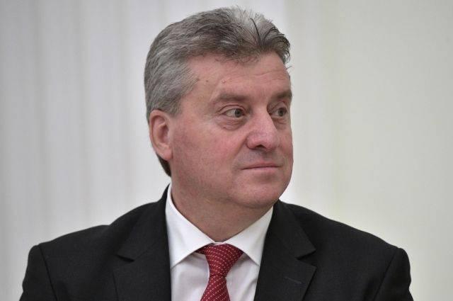 Македонский президент заявил о неприятии договора о переименовании страны