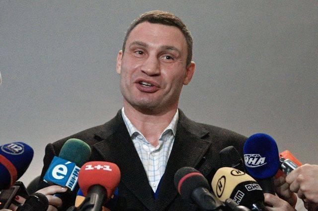 Кличко заявил, что не собирается баллотироваться в президенты Украины