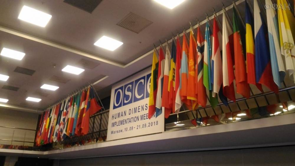 Крымчанин выступил на конференции ОБСЕ в Варшаве вопреки протесту Киева