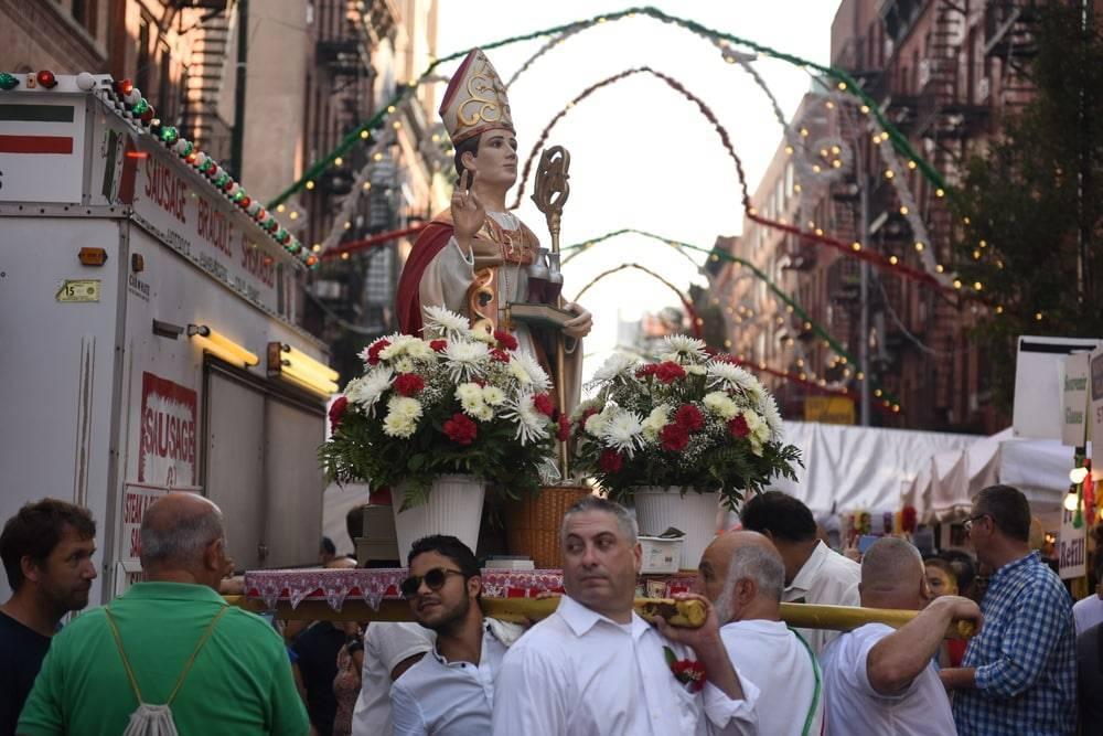 92-й ежегодный фестиваль Сан-Дженнаро стартовал в Маленькой Италии на Манхэттене
