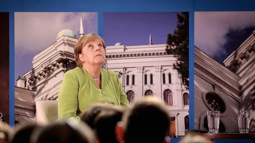 Меркель заверила, что Украина останется страной энергетического транзита: фото и иллюстрации