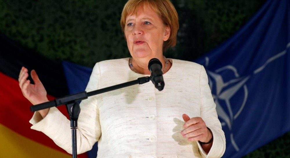 Меркель обвинила Россию в дестабилизации постсоветских стран