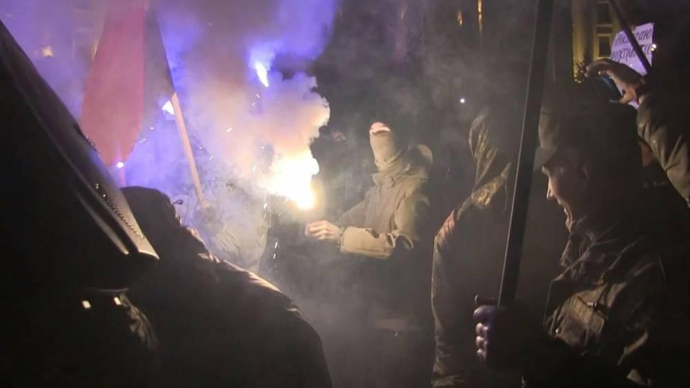 Преступник в Киеве напал на судью, рассматривающего дела об убийствах на Майдане