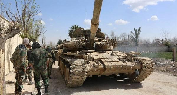 САА пошла в наступление под Эт-Танфом. Как поживает военная база США?