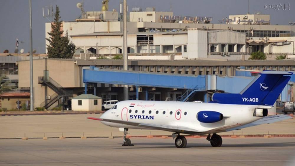 ПВО Сирии отразили атаку Израиля в районе аэропорта Дамаска— SANA