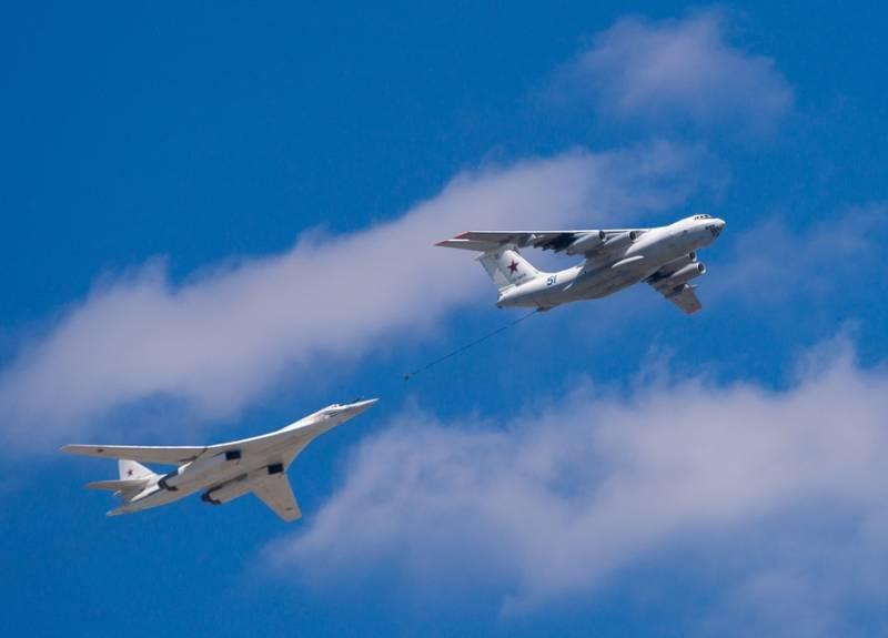 Ту-160 пролетели над Северным полюсом