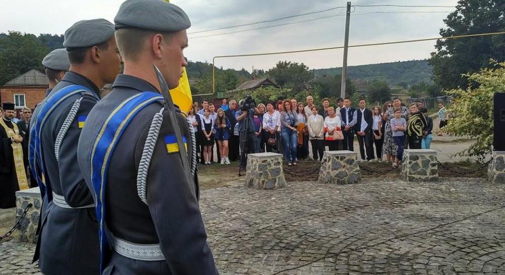 ВОдесской области открыли мемориал воинам армии УНР