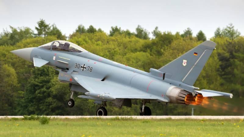 Истребители НАТО в Эстонии продолжат ежедневные тренировки