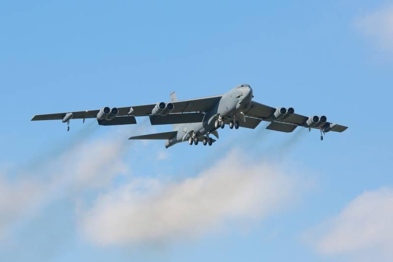 Американский B-52 замечен близ Мурманской области