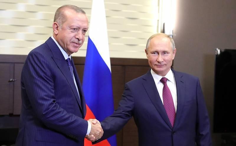 Путин и Эрдоган договорились о создании демилитаризованной зоны в Идлибе