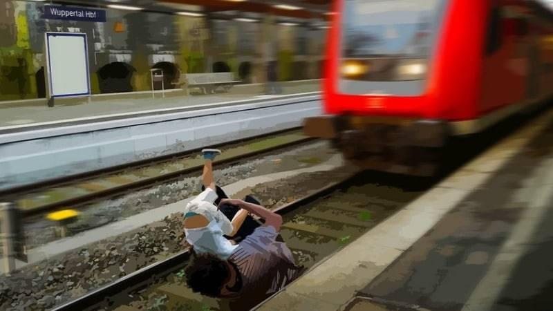 Драма на вокзале Вупперталя