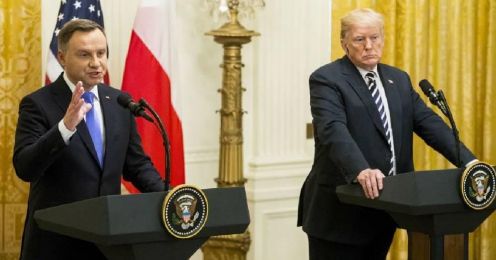 """""""Форт Трамп"""". Президент Польши придумал название новой военной базе США в Польше"""