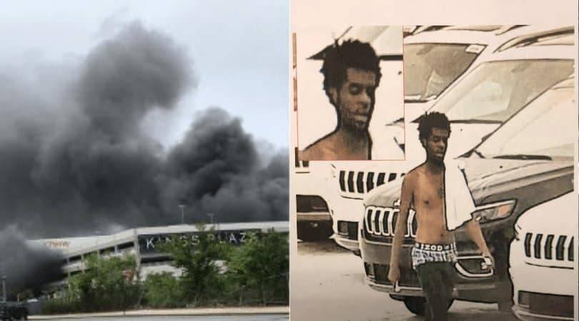 Бездомный признался в поджоге паркинга в Бруклине и рассказал о причине