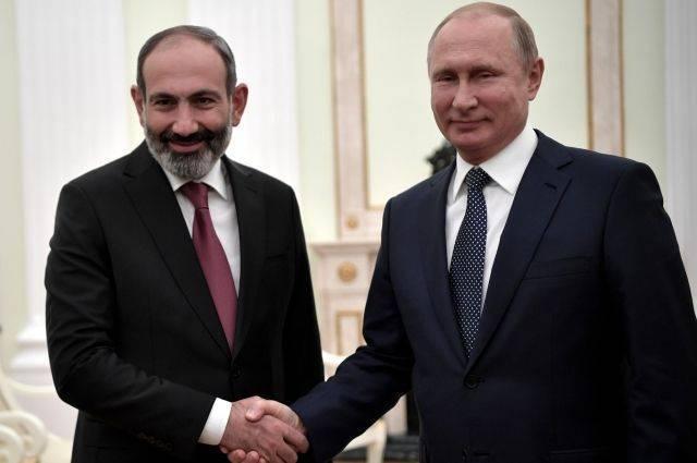 Пашинян сообщил о планах посетить Россию и встретиться с Путиным: фото и иллюстрации