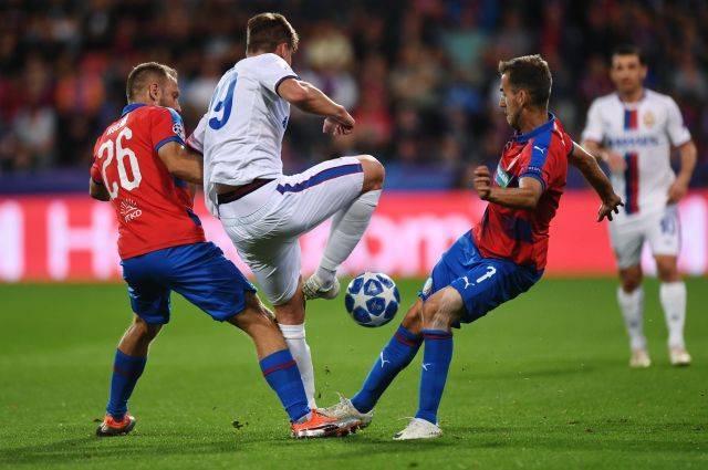 ЦСКА сыграл вничью матч Лиги чемпионов с чешской «Викторией»