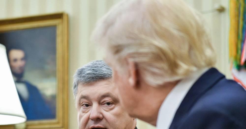 Порошенко подал в суд на Би-би-си за материал о проплаченной встрече с Трампом