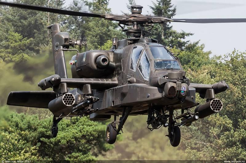 ВВС Нидерландов модернизируют вертолеты AH-64D Apache