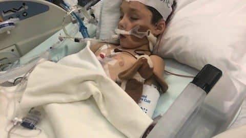 8-летний Илюша умер от кровоизлияния в мозг: семья просит о помощи