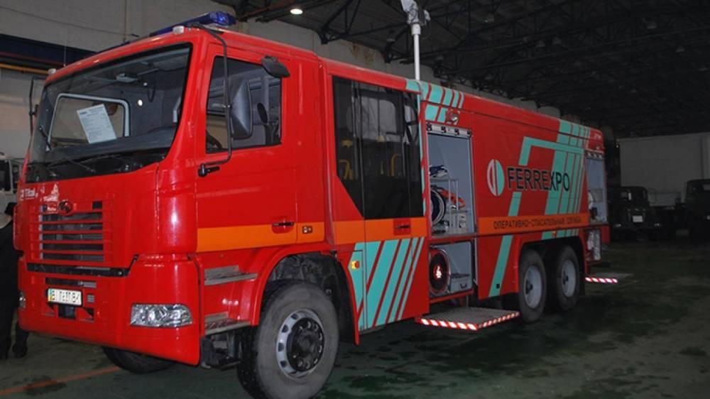Автобус с детьми загорелся в Сумской области на Украине