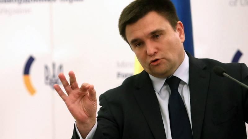 """Мы его не покажем! Климкин рассказал про """"тайный план"""" Совбеза по Донбассу"""