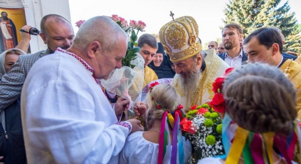 Митрополит Онуфрий возглавил праздничное богослужение в Чернигове