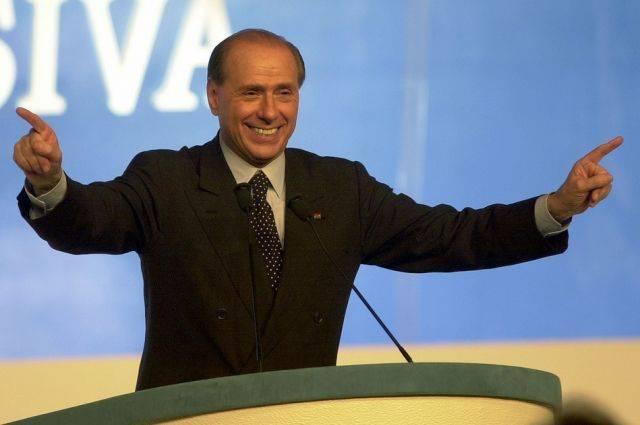 Берлускони собирается участвовать в выборах в Европарламент: фото и иллюстрации