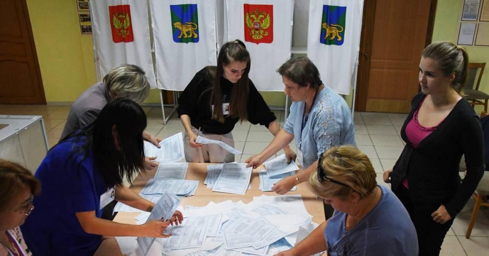 Явка на выборах губернатора Владимирской области составила 38,29%