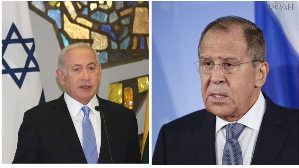 РФ учитывала просьбы Нетаньяху в палестино-израильском урегулировании—Лавров