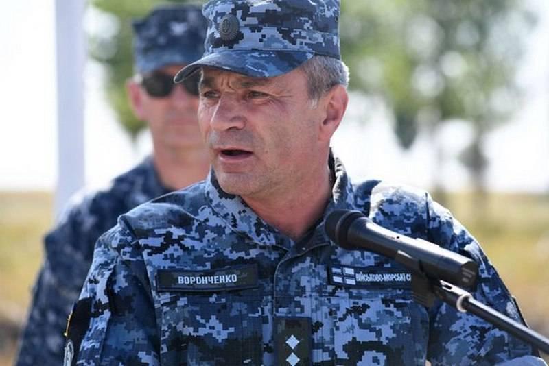Главком ВМС Украины отчитался перед главой Пентагона