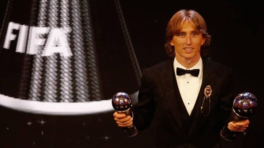 Лучшим футболистом года по версии ФИФА признан Лука Модрич: фото и иллюстрации