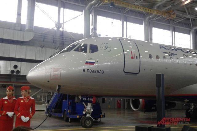 Суперджет-100 под номером 50. «Аэрофлоту» сдали юбилейный самолет
