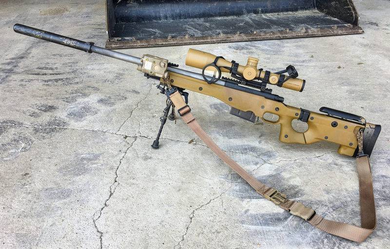 Корпус морской пехоты США начал замену снайперских винтовок