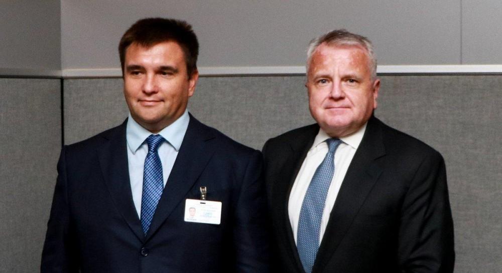Климкин и первый заместитель госсекретаря США обсудили вымогательство и запугивание России