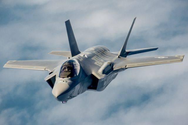 Появилось видео с места крушения истребителя F-35B в Южной Каролине