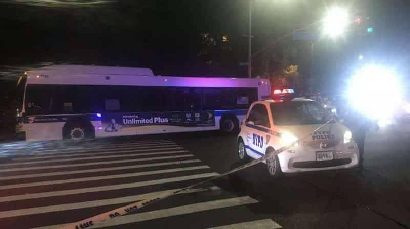 В Бруклине 75-летнюю женщину сбил автобус MTA