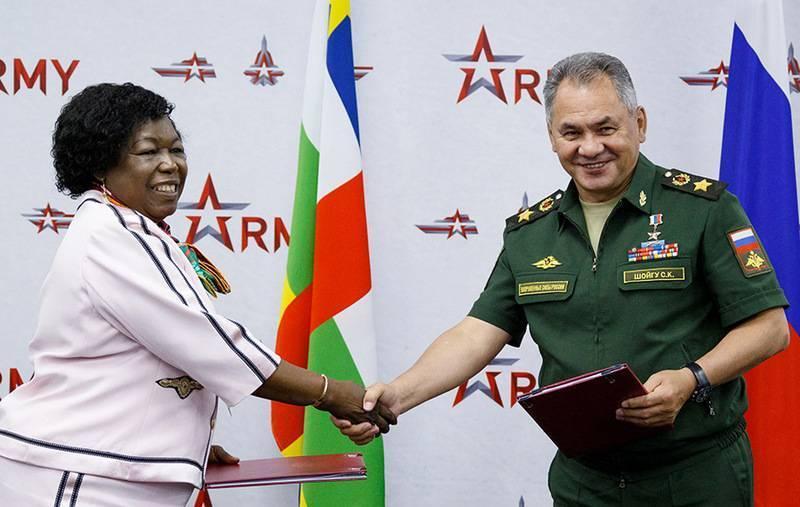 В ЦАР не исключают появления российской военной базы