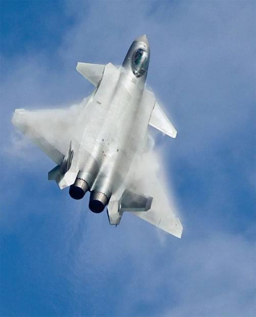"""В КНР рассказали, когда J-20 получат модернизированные двигатели """"с супертягой"""""""