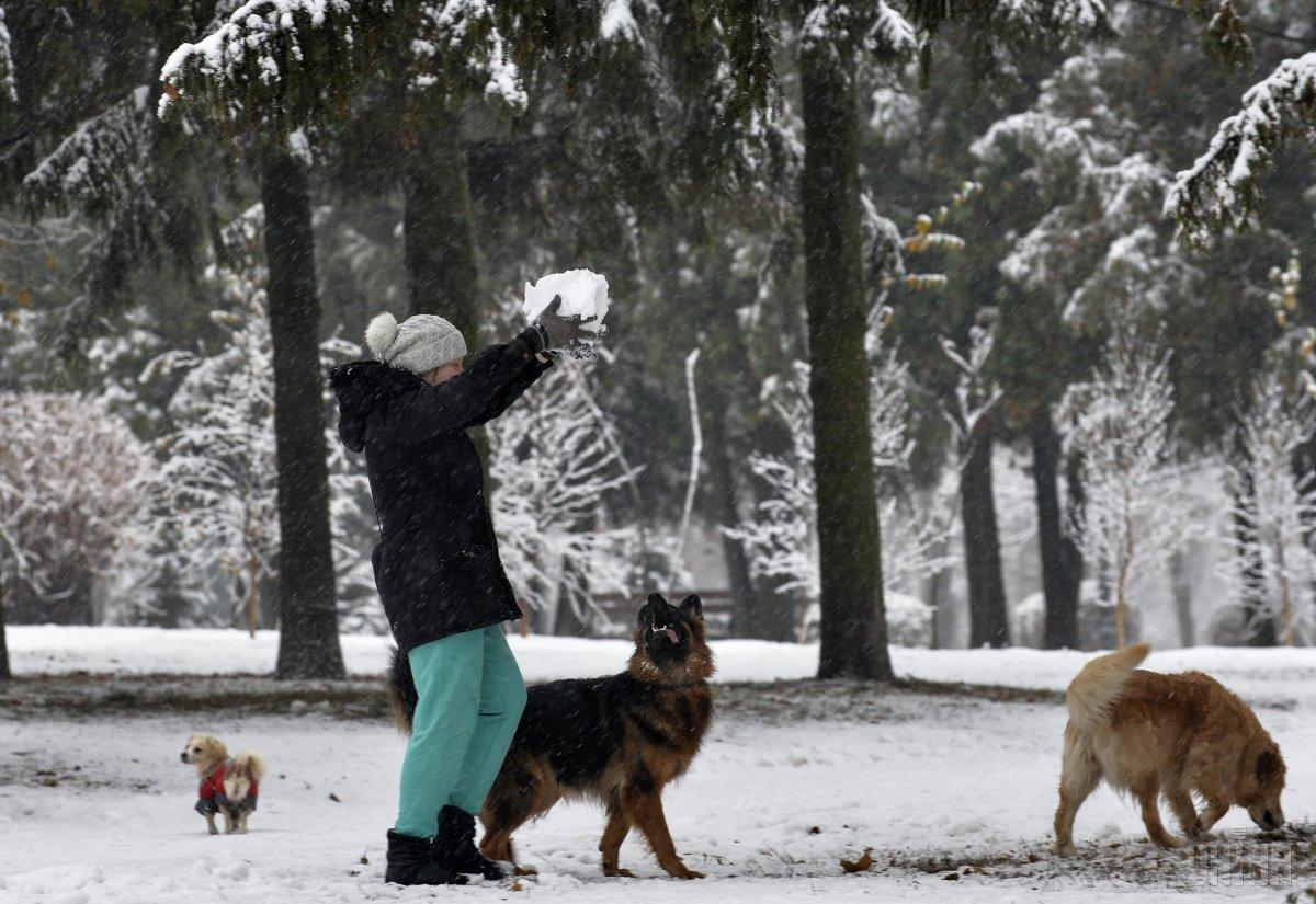 В Киеве завтра без осадков, температура до +2°