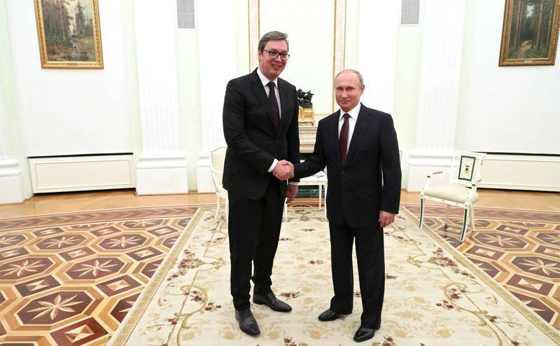 Что сербские СМИ пишут о визите Путина в Белград