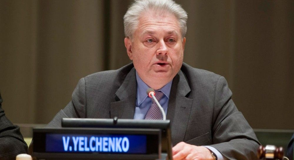 Ельченко передал генсеку ООН заявление с призывом давить на РФ для освобождения украинских моряков
