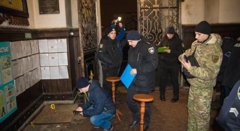 Взрыв в храме бывшей УПЦ МП в Сумах: полиция установила двух подозреваемых