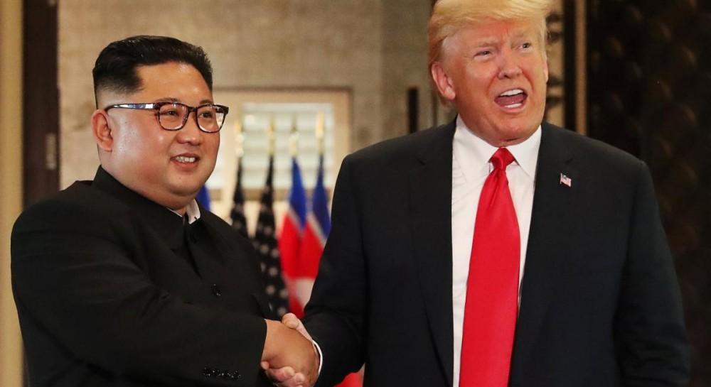 Трамп ждет новой встречи с Ким Чен Ыном