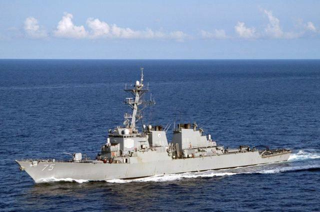 Эсминец американских ВМС Donald Cook прибыл в Батуми