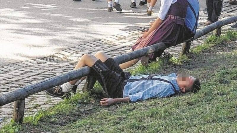 Пьяные пешеходы: штрафы и наказания в Германии